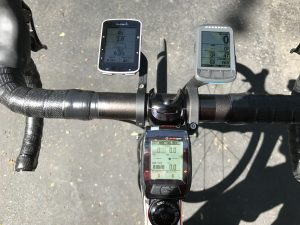 Garmin Edge 520 Wahoo Elemnt BOLT and Joule GPS