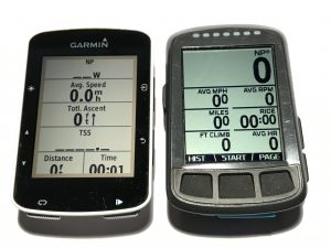 Garmin Edge 520 and Wahoo ELEMNT BOLT