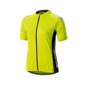 Altura - Womens Night Vision Commuter SS Jersey Yellow/Black 12