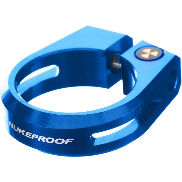 Horizon Seat Clamp - 31.8mm Blue | Seat Post Clamps