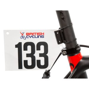 LifeLine Race Number Holder - One Size Black | Seat Posts