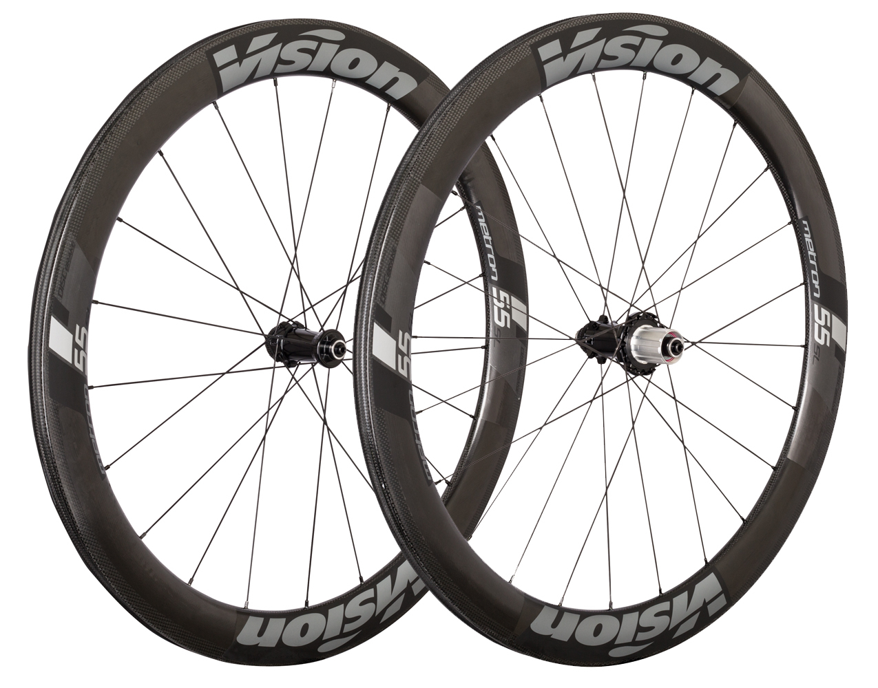 Vision Metron 55 Aero bike wheels