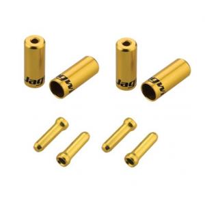 Jagwire End Cap 4.5mm Shift Hop-Up Kit Gold