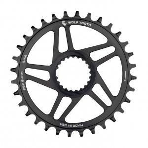 Wolf Tooth DM Chainrings for Shimano 12spd Cranks 30T Boost Hyperglide+ Chain