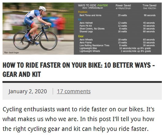 How to ride faster on your bike: 10 better ways