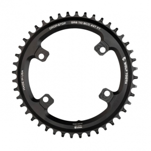 Wolf Tooth Chainring For Shimano GRX Cranks Black, 38T