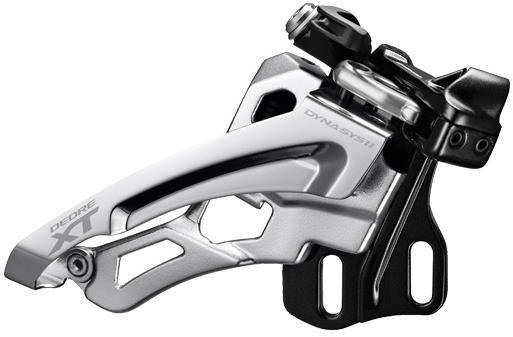 Shimano Deore XT M8000 Triple Front Derailleur Side Swing Front Pull