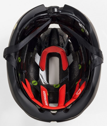 Bontrager Velocis road bike helmet padding