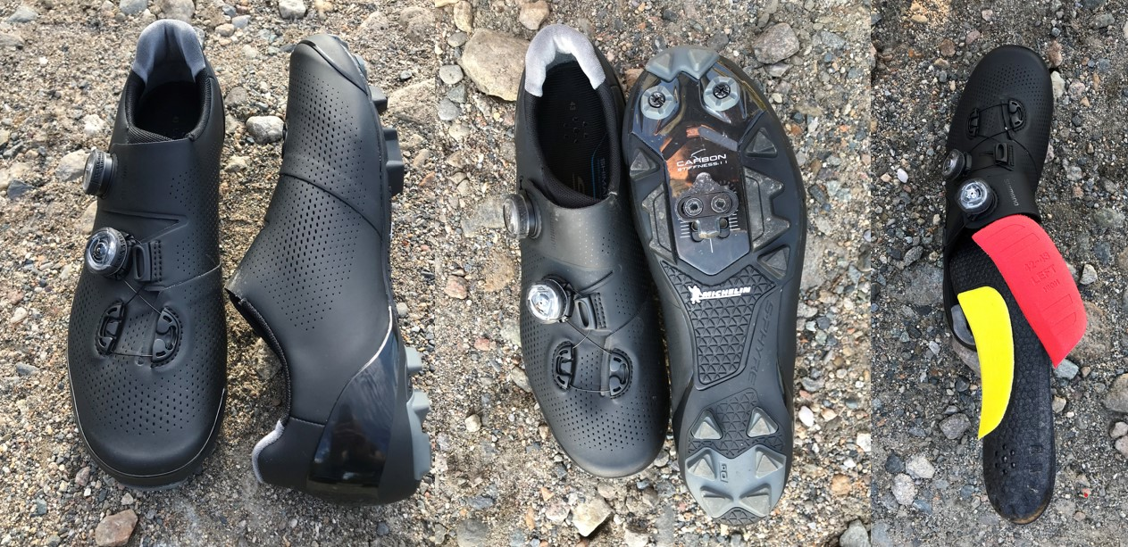 Shimano RC9 mountain bike shoes
