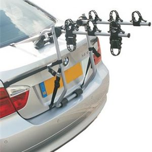 Hollywood Baja Over Spoiler Mount 3 Bike Car Rack - 3 Bikes