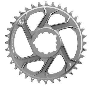 SRAM | Eagle X-SYNC 2 SL Boost Chainring Lunar | Grey | 30 Tooth, 3mm Boost, C2 | Aluminum