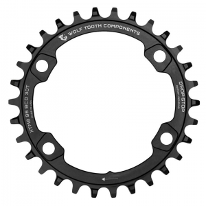 Wolf Tooth Components | 96 mm BCD Chainrings for XT M8000 & SLX M7000 30Tx96mm Bcd Shimano M8000 XT/M7000 SLX | Aluminum