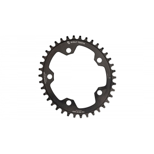 Wolf Tooth Components | Oval 110 BCD Chainrings | Black | 38Tooth | Aluminum