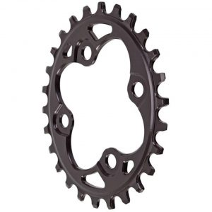 Absolute Black Oval Chainring (Black) (64mm BCD) (Offset N/A) (26T) - OV26BK