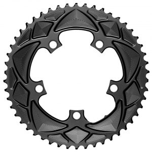 Absolute Black Round Chainring (Black) (110mm BCD) (52T) - RR52/5BK