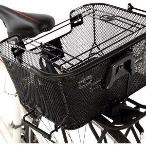Axiom Pet Basket with Rack and Handlebar Mounts (Black) - 171383-01