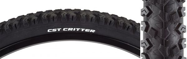 CST Critter 26x2.1 Tire, Wire, Black