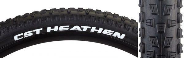 CST Heathen 27.5x2.1 Tire, Wire, Black
