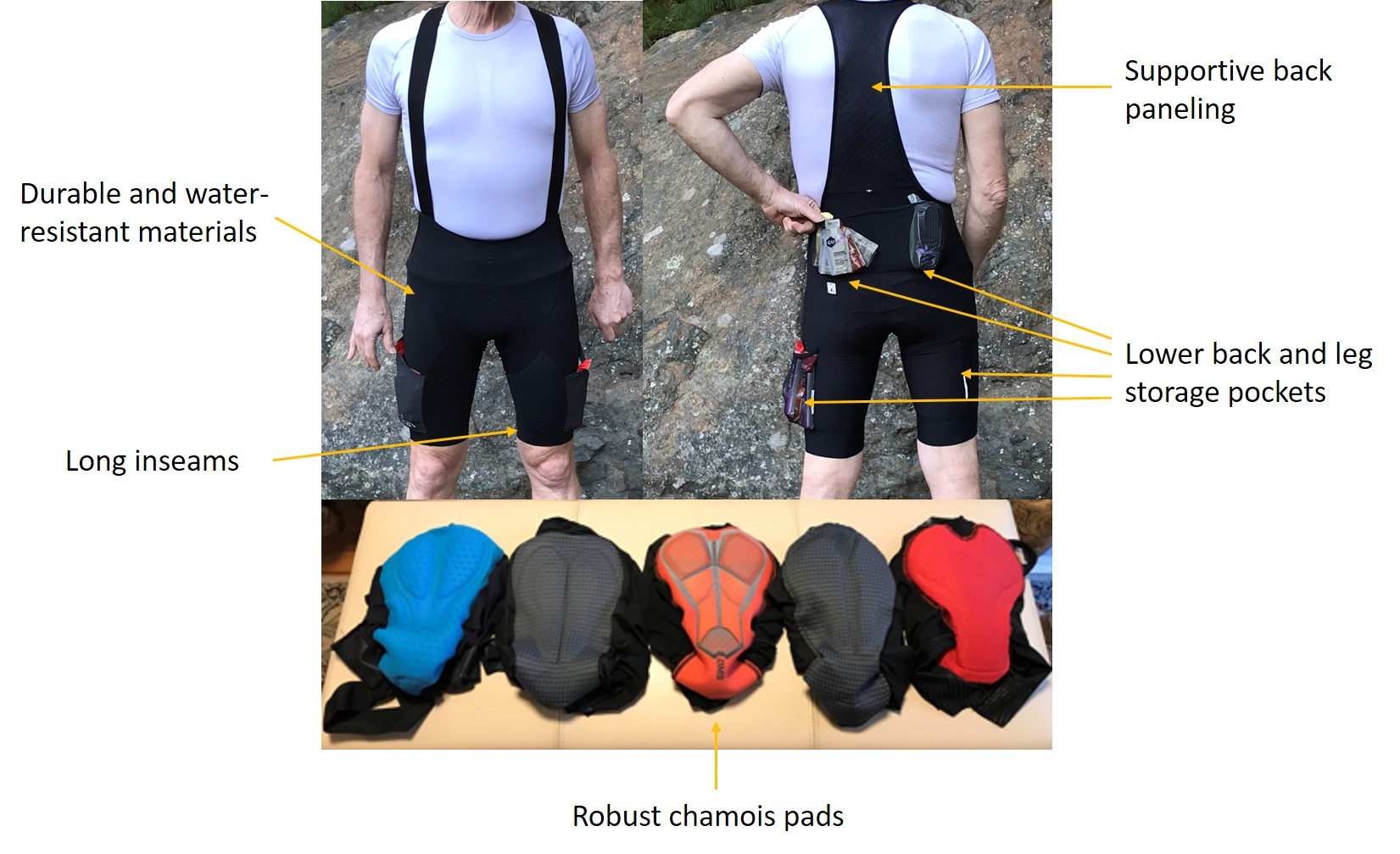 What's different about gravel bike shorts