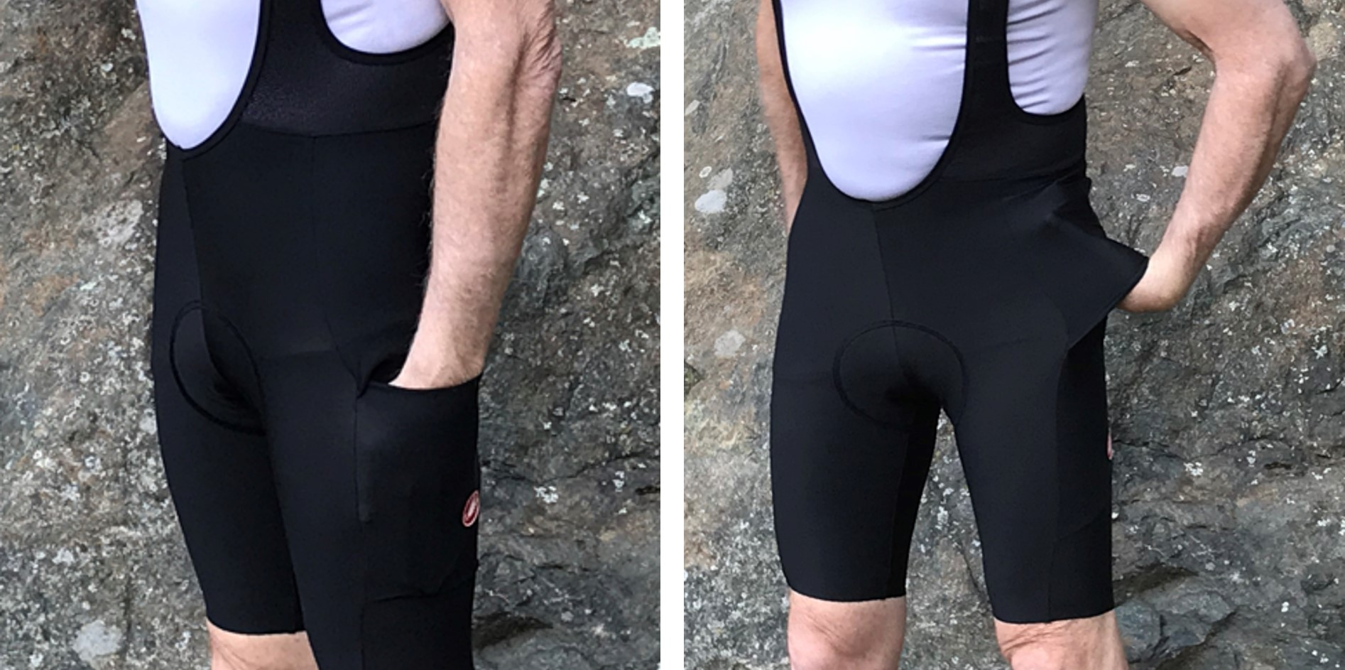 Castelli Unlimited leg pockets