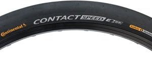 Continental Contact Speed Tire - 700 x 42, Clincher, Steel, Black