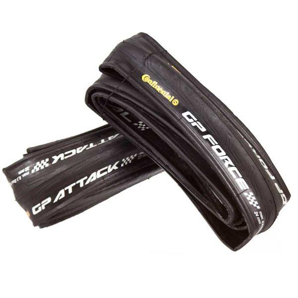 Continental Grand Prix Attack/Force Tire Set (OEM)