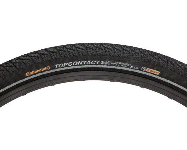Continental Top Contact Winter Tire - 700 x 37, Clincher, Folding, Black - 0100713