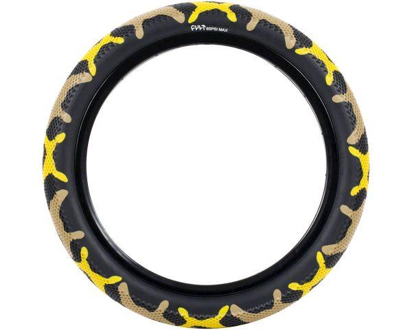 Cult Vans Tire (Yellow Camo/Black) (20 x 2.40) - 05-TIRE-CV-2.40-YCAMO
