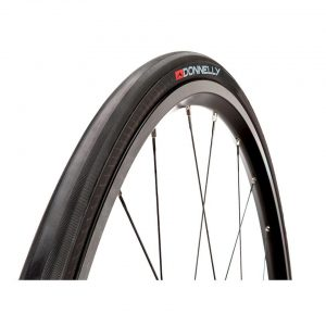 Donnelly Sports Strada LGG Road Tire (Black) (700 x 25) (Folding) - 00030