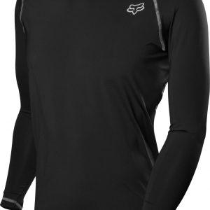 Fox Racing First Layer Long Sleeve Jersey - Black - S
