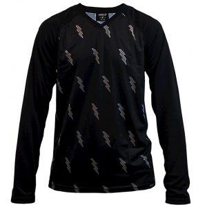 Handup Long Sleeve Jersey (Blackout Bolts) (S) - SQ2799189SM