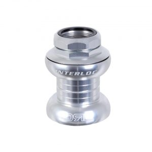 "Interloc Racing Design Double Roller Drive Headset (Silver) (1"" Threaded) (EC30/25.4-24tp... - 29776"