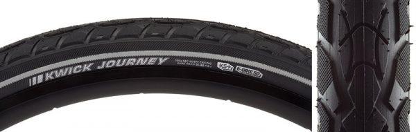 Kenda Kwick Journey Sport KS+ 700 x 50 Tire, Wire Bead, Black