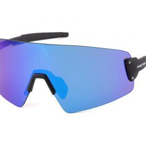 Optic Nerve Fixie Blast Sunglasses (Matte Black) (Blue Mirror Lens) - 22100