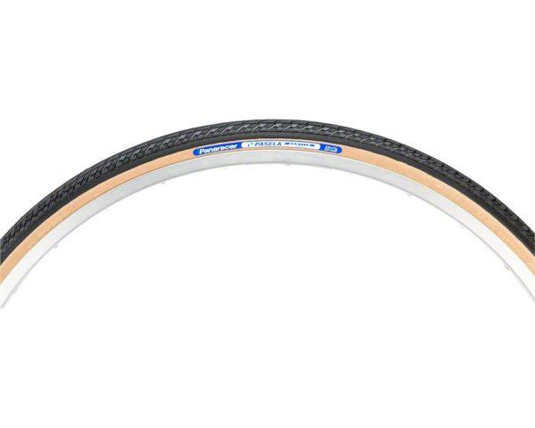 Panaracer Pasela ProTite Tire - 27 x 1-1/4, Clincher, Wire, Black/Tan, 60tpi - RF274-LX-18PT2