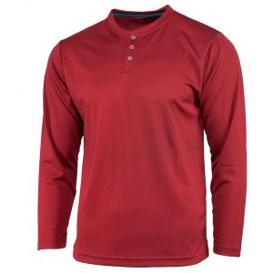 Performance Long Sleeve Club Fed Jersey (Red) (2XL) - 11-5978-RED-XXL