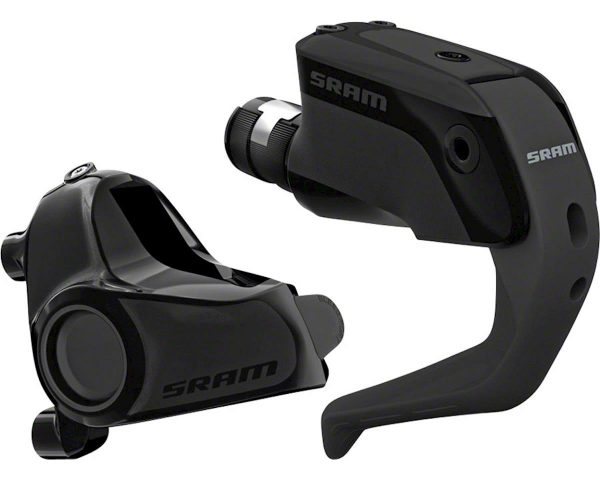 SRAM S900 Aero Disc Brake and Lever - Front, Hydraulic, Flat Mount, Black, A1 - 00.5018.115.000