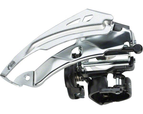 Shimano Tourney FD-TY700 Front Derailleur (3 x 7/8 Speed) (28.6/31.8/34.9mm) (Top ... - EFDTY700TSX6