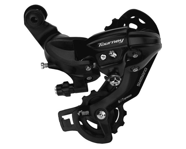 Shimano Tourney RD-TY300 Rear Derailleur (Black) (6/7 Speed) (Direct-Attach) (Long Ca... - ERDTY300D