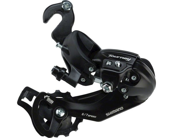 Shimano Tourney RD-TY300 Rear Derailleur (Black) (6/7 Speed) (Track/BMX Hanger) (Lon... - ERDTY300MB
