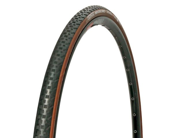 Soma Shikoro Clincher Tire (Black/Brown) (700 x 33) - 46974