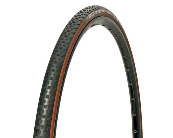 Soma Shikoro Clincher Tire (Black/Brown) (700 x 42) - 46978
