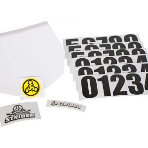 Strider Sports Sports Number Plate Kit - APLATE1