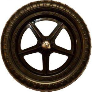 "Strider Sports Ultralight 12"" Replacement Wheel (Black) (Single) - PWHEEL-UL_BK"