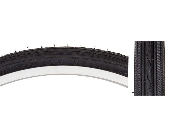 "Sunlite Recreational Road Tire (Black) (24 x 1-3/8"") - 03440005"