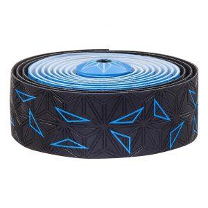 Supacaz Super Sticky Kush Handlebar Tape (Starfade Black & Blue) - BT-49