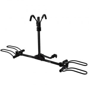 "TransIt Flatbed 2DLX Hitch Rack (XR-210) (2 Bike) (Fits 1.25"" & 2"" receiver) - 40-0175-NON-NON"