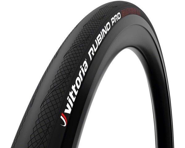 Vittoria Rubino Pro G2.0 Road Tire (Black) (700 x 25) (Folding) - 11A00140