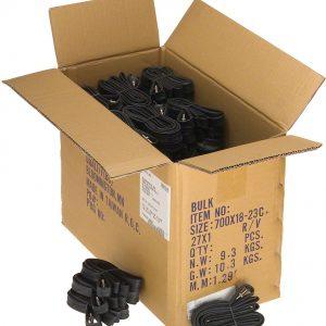 Q-Tubes / Teravail SL 700c x 18-23mm 48mm Presta Valve Box of 50 Bulk