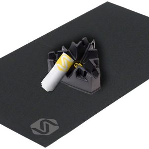 Saris 9781T Complete Accessory Training Kit w/Mat, Climbing Block and Towel